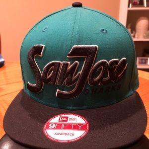 NWT- San Jose Sharks snapback Hat